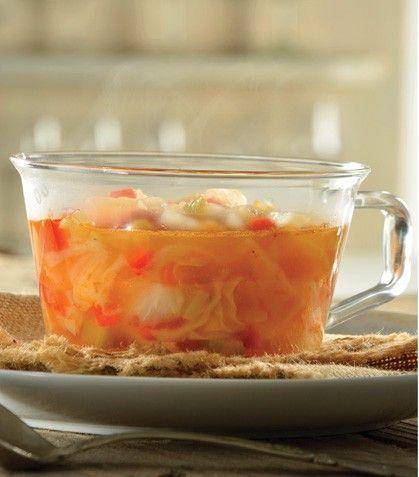 """""""Sopa de col maravilla""""... Esta sopa es ideal si buscas desintoxicarte y bajar de peso."""