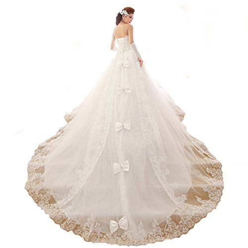 UGE Strapless Court Wedding Dress with Pearl Bodice Extra Long Train on sale #Wedding-Dresses http://www.weddingdealusa.com/uge-strapless-court-wedding-dress-with-pearl-bodice-extra-long-train-on-sale/11258/?utm_source=PN&utm_medium=jillweddings+-+wedding+dresses&utm_campaign=Wedding+Deal+USA