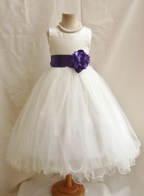 12 best flower girl dresses images on pinterest dresses for girls love this design flower girl dress ivorypurple plum fl wedding children easter bridesmaid communion purple plum purple eggplant pink light peach orange mightylinksfo