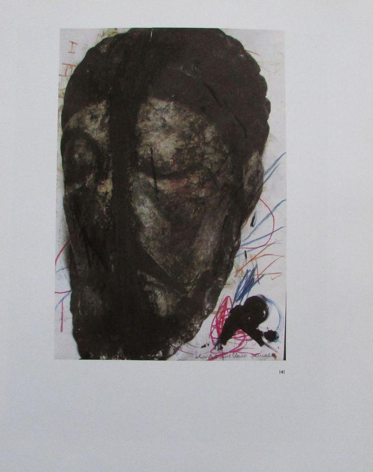 Arnulf Rainer DAS HAUPT CHRISTI Übermalung Kunstdruck Bibel Religion art print | eBay