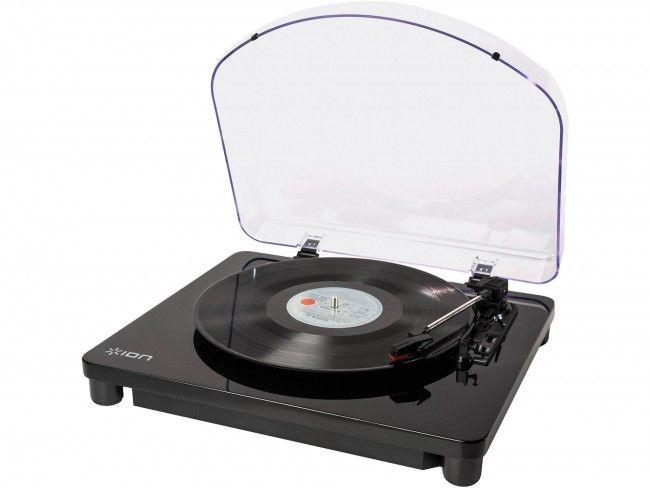 ION Classic LP Black - Platenspelers - 123platenspeler.nl