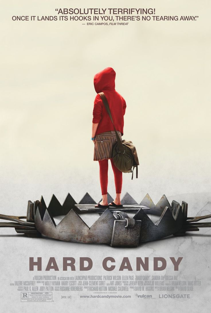 Hard candy really hard film to watch ellen page is amazing though