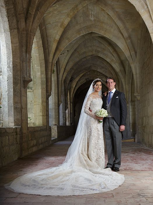 The Luxembourg royal family release the official portraits from the royal wedding of Prince Felix and Claire Lademacher - Photo 3 | Celebrit...