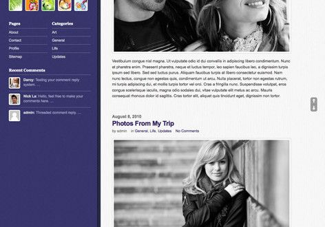 Sidepane A Fixed Sidebar WordPress Theme By Themify