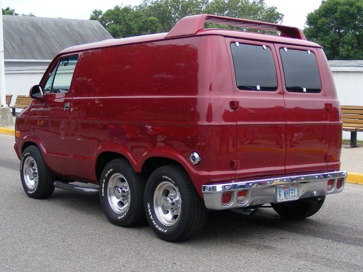 205 Best Images About Custom 6 Wheel Vans On Pinterest