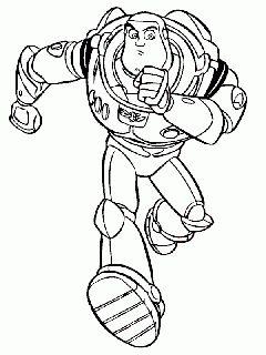 obr. 618 - omalovánky Buzz Rakeťák Toy Story 2