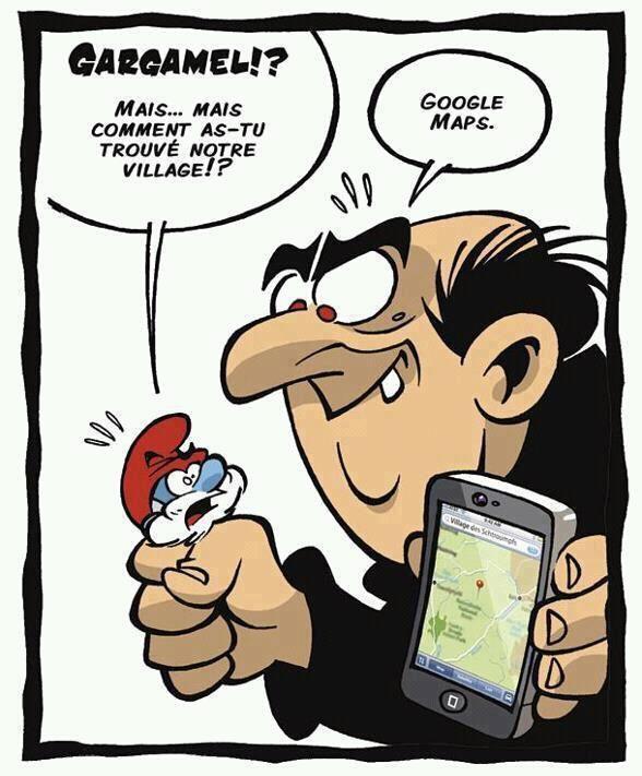 Gargamel aime la technologie !