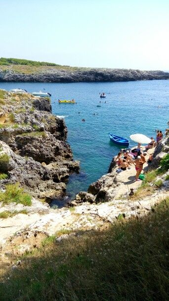 Porto Badisco, Otranto, Puglia - Agosto 2015