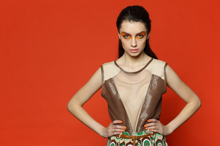 Dalles shooting editorial  Photo: Alex Neda Styling: Gabriela Matei Make-up:Melissa Glisten  Top: Larisa Dragna Fashion Bucharest 2015