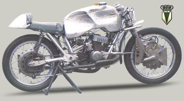 1953 Dkw 3 Cylinder Racer Classic Bikes Racer Cylinder