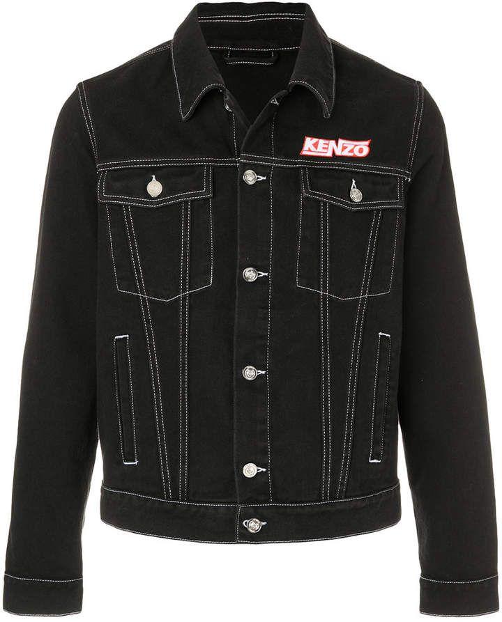 Kenzo denim jacket with stitching #summerwear #jacket #denim #menswear