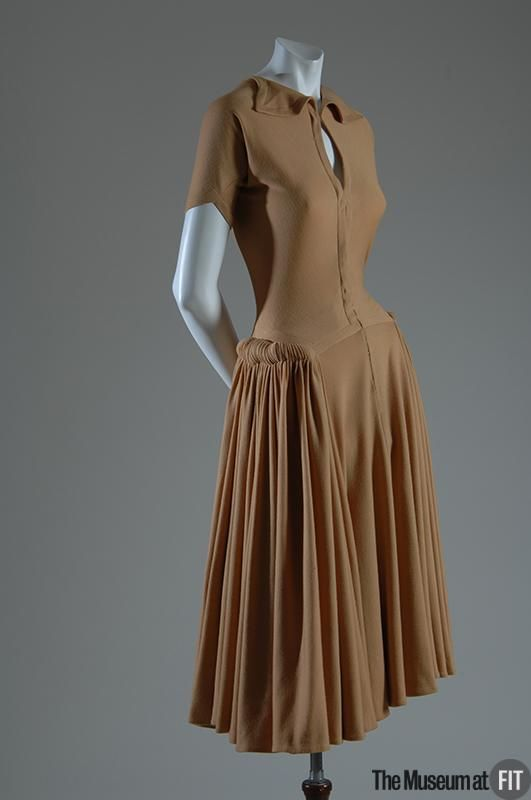 Dress Madame Grès, 1949-1952 The Museum at FIT