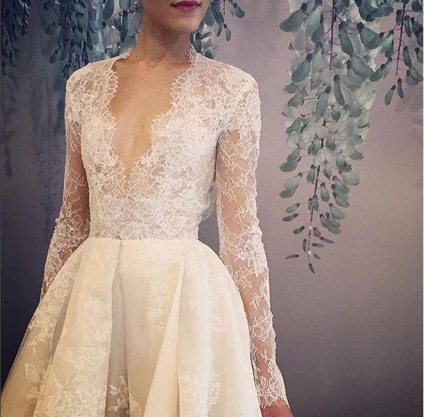 34 Amazing New Looks from New York Bridal Fashion Week