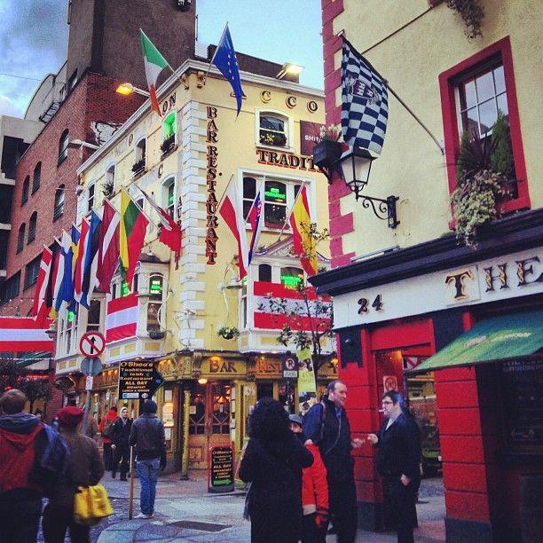 Temple Bar Square in Dublin
