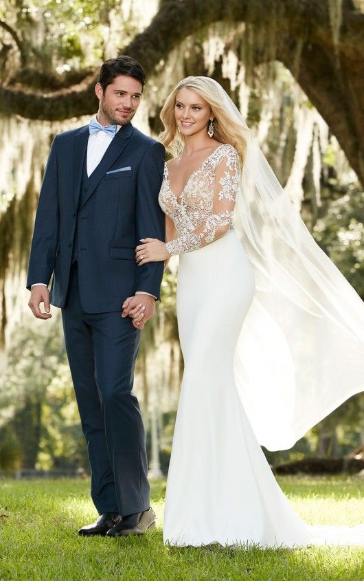 What makes a Martina Liana wedding dress so different?