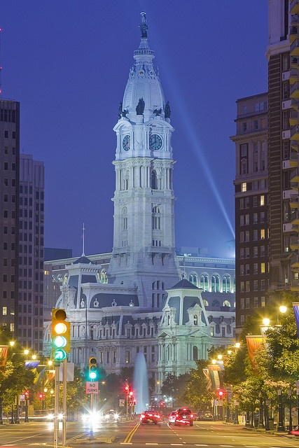 Philadelphia City Hall by enfi, via Flickr