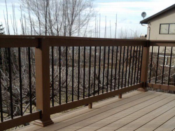 68 best deck images on pinterest | railing ideas, deck and deck ... - Patio Railing Ideas