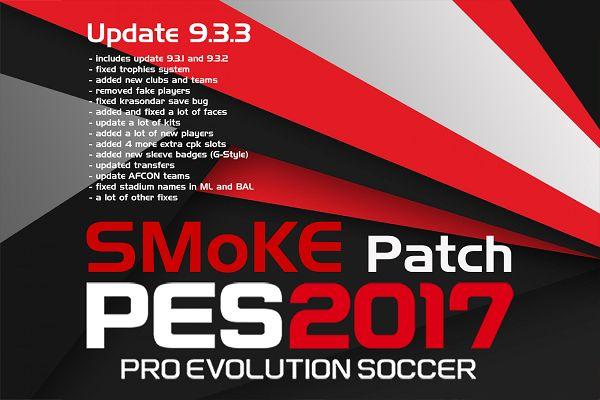 Bản cập nhật mới SMoKE Patch 9.3.3 (685 mb) của SMoKE Patch được tạo ra để vá lỗi cho bản SMoKE Patch 9.3 và bản update SMoKE Patch 9.3.3 này đã bao gồm...