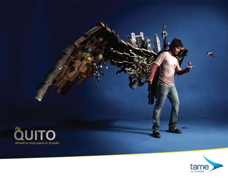 Tame #Ecuador    http://adsoftheworld.com/files/images/02quito.jpg