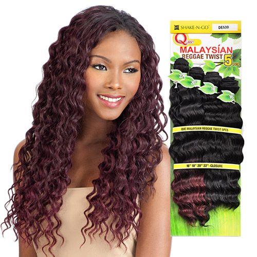 63 best weaves images on pinterest waves wig and cap dagde milky way human hair blend weave que malaysian reggae twist 5pcs pmusecretfo Image collections
