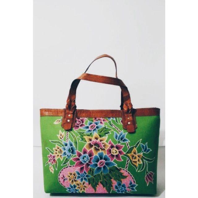 15 % off for this Anjani Tote Bag in Gendhong Jawa motif.   #sale