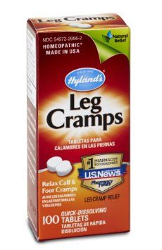 Amazon.com: Hyland's Leg Cramp Tablets, Natural Calf, Leg and Foot Cramp Relief, 100 Count: Health & Personal Care