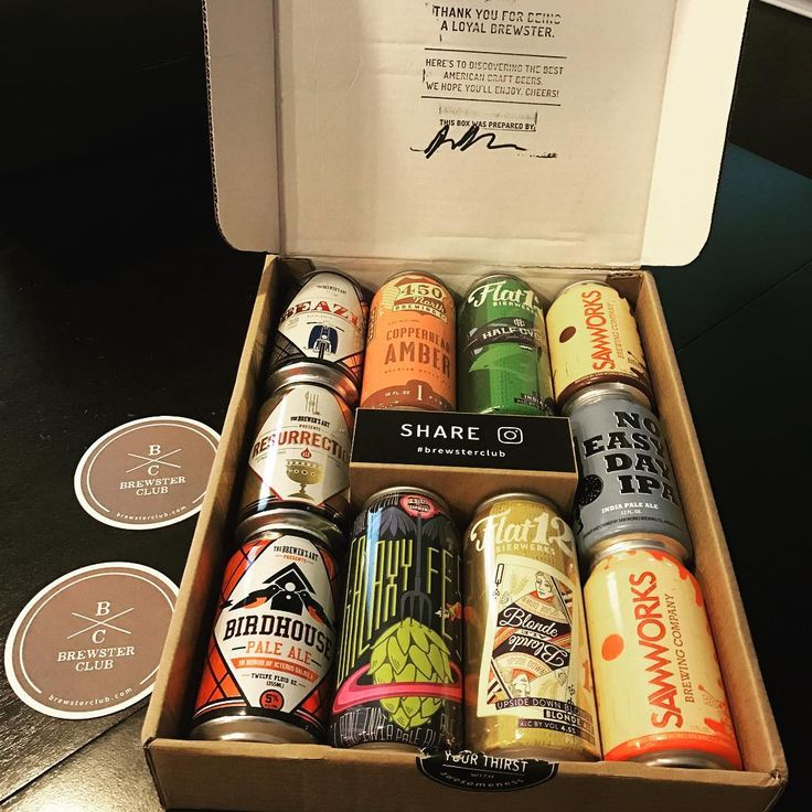 An awesome friend sent us this brewster club box. We love craft beer and they are all new ones to try!