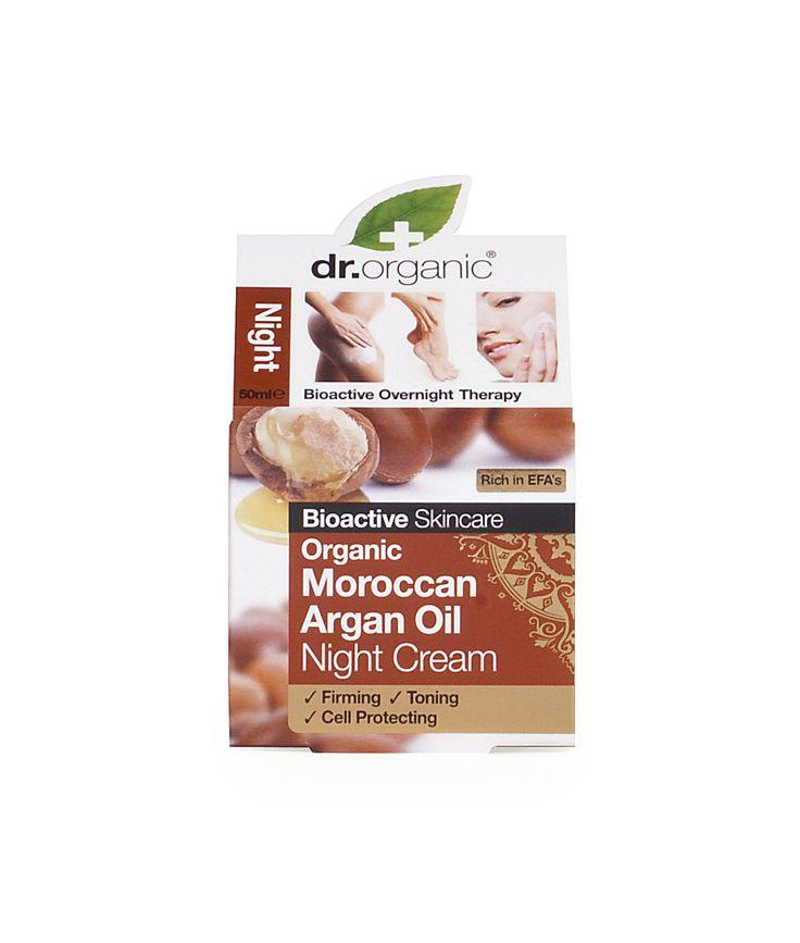 Night Cream - Crema Viso Notte - Dr. Organic