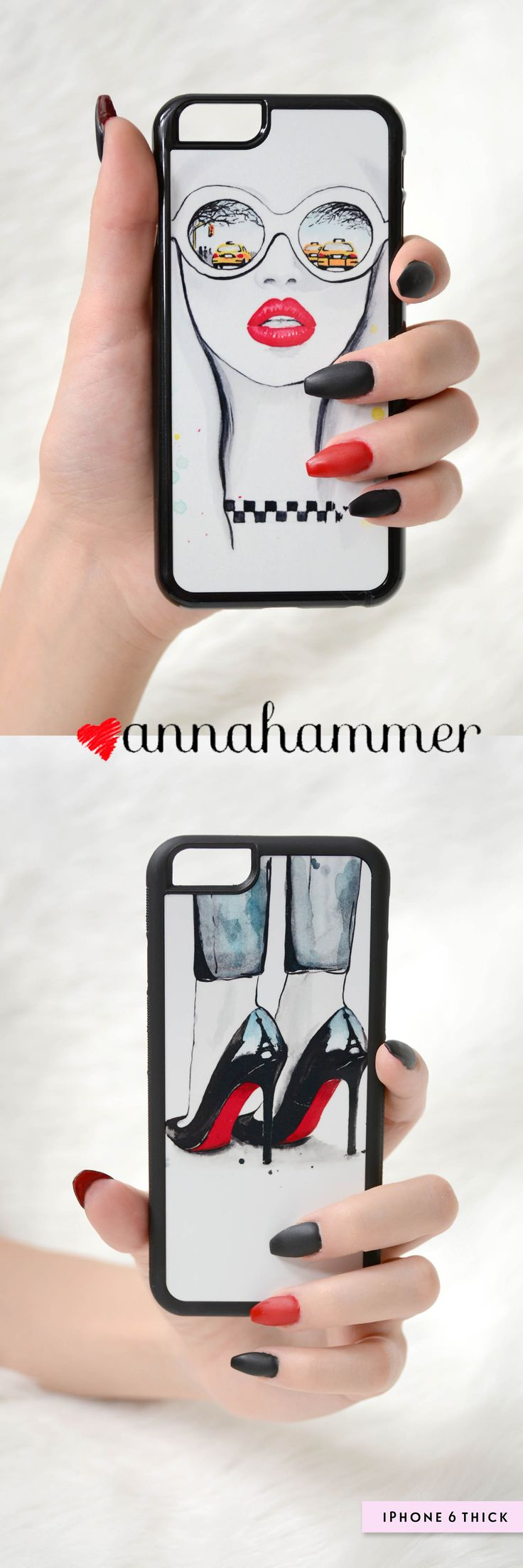 Fashion iPhone cases Designed by anna hammer