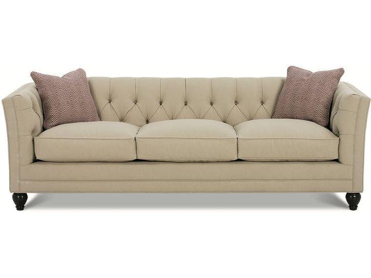 BenchMark CHLOE 2-Cushion Sofa BCHCHLOE002 from Walter E. Smithe Furniture + Design
