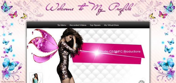 Wings of Fuchsia, MFC Profile template for camgirls
