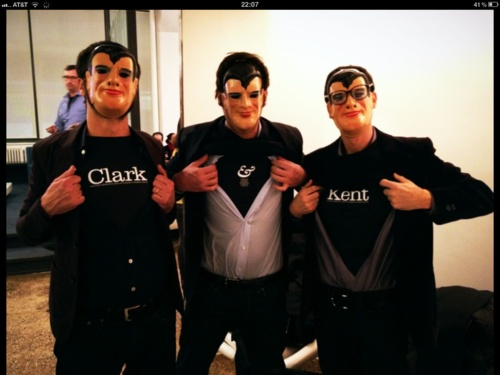 Clark&Kent goes to Clio Cocktail in New York (and the t-shirts too)!