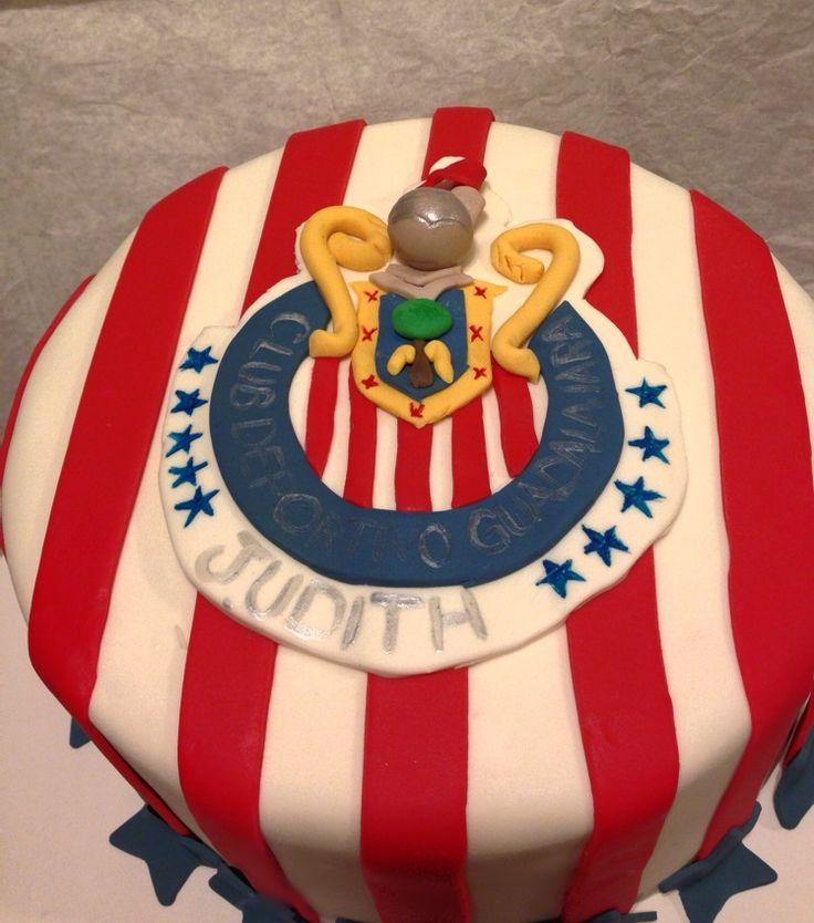 Club America Birthday Cake