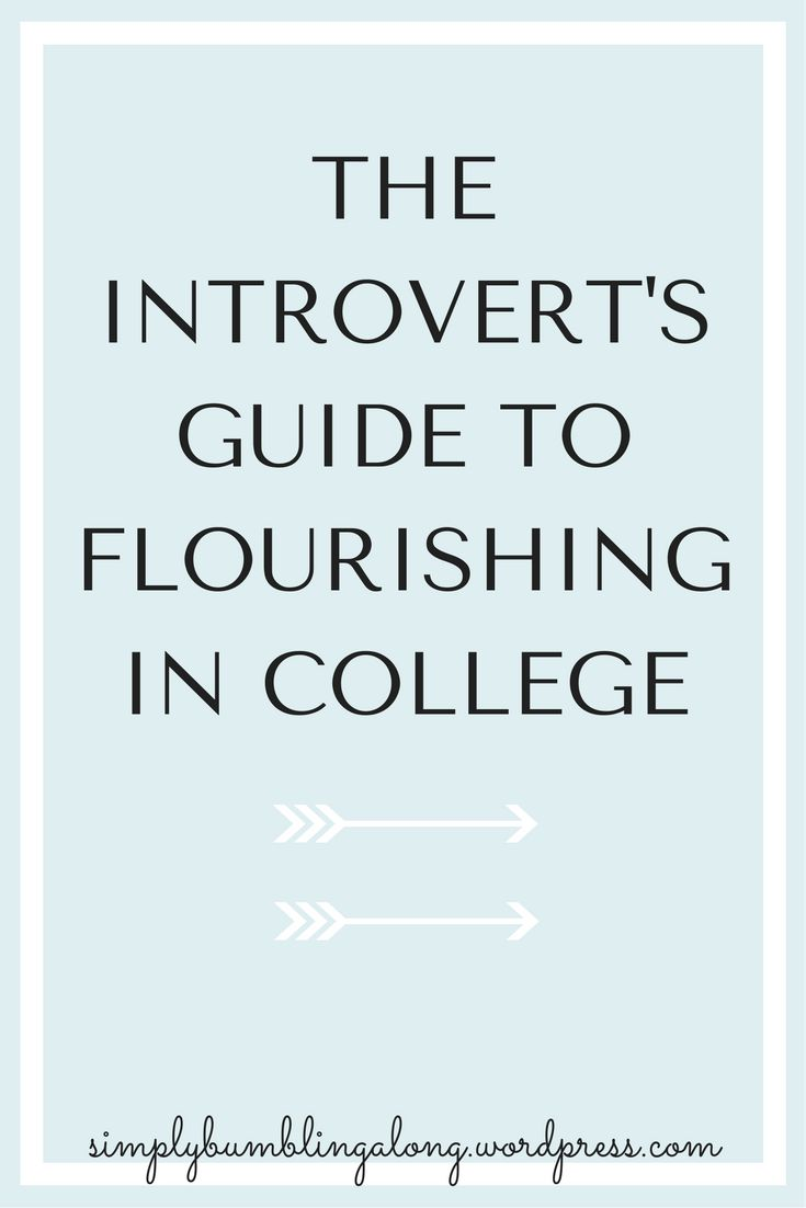 Going off to college is tough, especially on introverts. Click here to earn a few tips to make college life easier!