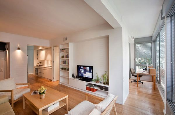 59 square meters apartment in Tel Aviv 1 Refreshed 59 Square Meters Apartment In Tel Aviv