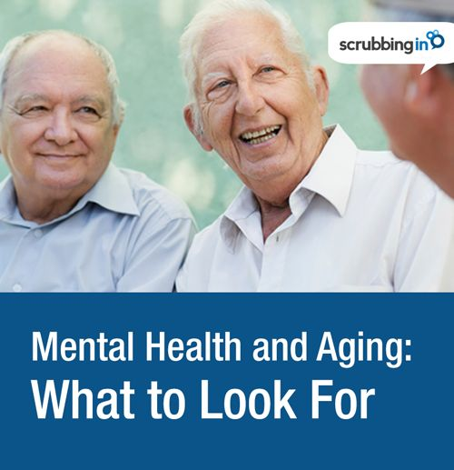 Mental health signs to watch for in the elderly   http://Scrubbing.in