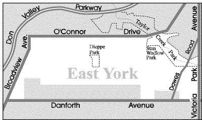 Toronto Neighbourhood Guide - East York - Neighbourhoods