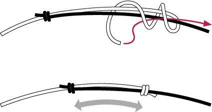 もう一つは、絵を見ていただければ分かると思いますが、この結び方ですと 頭を通してからペンダントヘッドの高さ(革紐長さ)の調節が出来ます。 革紐の長さは60~80cm。是非お試しください。 欠点としては、着けた後、ヘッド高さを調節すると結び目が首の両脇に でてくることです。革紐らしさといえなくもないです(^^ゞ