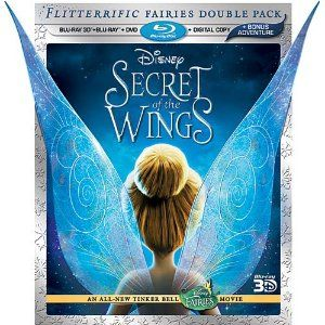 Disney Secret of the Wings 4-disc combo pack will make the perfect holiday gift for your Tinkerbell fan!