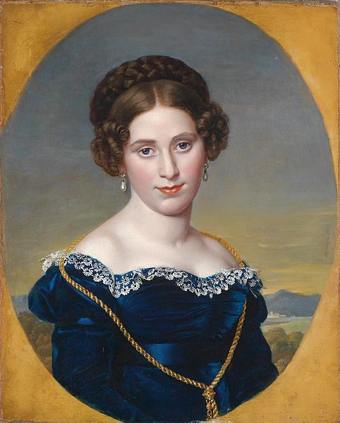 File:Eduard Friedrich Leybold - Bildnis einer Dame vor Landschaftshintergrund (1822).jpg