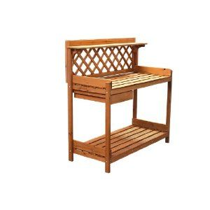 Astonica Wooden Potting Bench At Ace Hardware Plusarquitectura Info