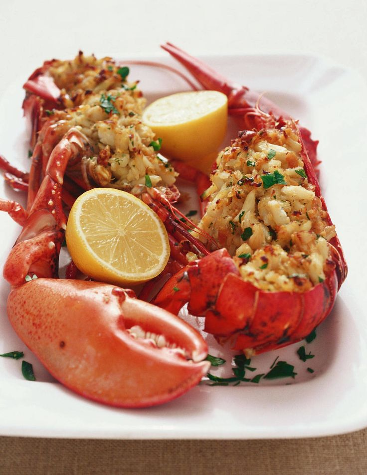 8 Truly Decadent and Delicious Lobster Recipes | Celery, Parsley and Butter poached lobster