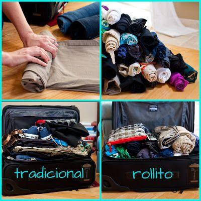 Maletas para viajes Low Cost. consejos parra hacer la maleta