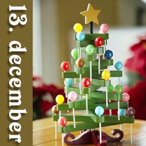 DIY julegave 13 – Fredags Juleguf-træ
