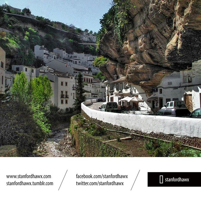 9 - Setenil - İspanya Yeraltı Şehri
