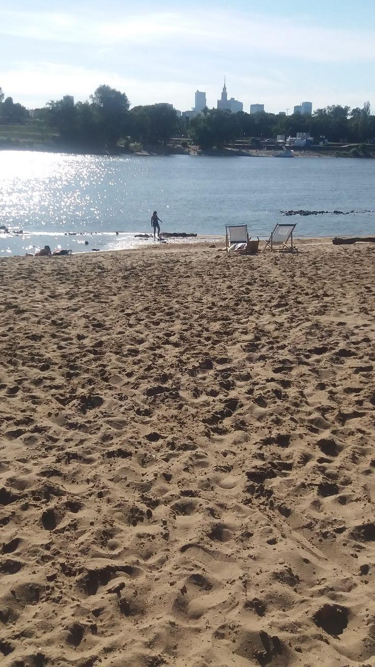 Plaża Saska. fot. Aleksandra Mysiorska