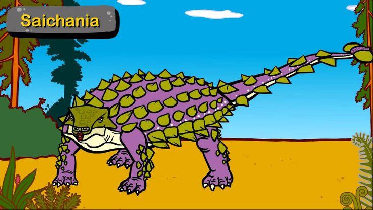 Les Ankylosauriens - 2ème partie - La vie des dinosaures - Dessin animé éducatif Genikids.mp4