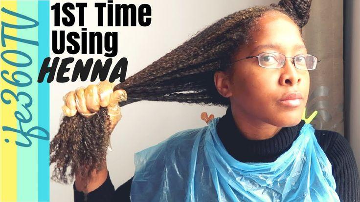 HOW TO Use HENNA Hair Dye on NATURAL HAIR Henna hair