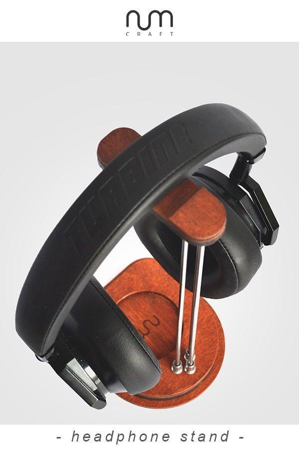 Headphone stand Headphone holder Headphone hanger tech gift