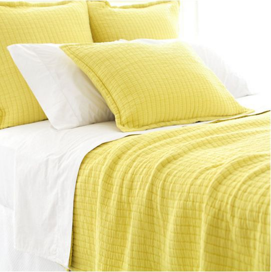 Boyfriend Citrus Matelassé Bedding design by Pine Cone Hill